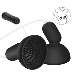 Externe tepel Sucker Vibrator borst pomp tepel Massager trillingen speeltjes voor vrouw