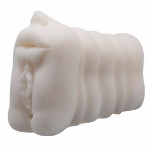 Multi-speed kunstmatige echte huid kut robotic kut vagina masturbator voor man