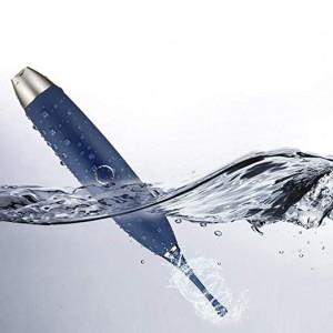 Blauwe siliconen waterdichte hoge frequentie wervelende vibrator